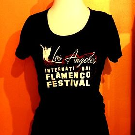 Los Angeles International Flamenco Festival T-shirt